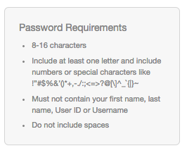Comcast: Maximum length of 16 characters
